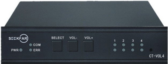 CT-VOL4 4路音量控制器